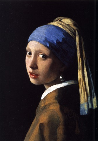 Johannes Vermeer The Girl with the Pearl Earring 1665