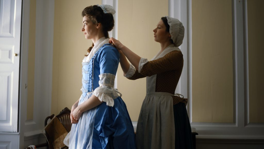 Getting Dressed in the Eighteenth Century, Crow's Eye Productions.